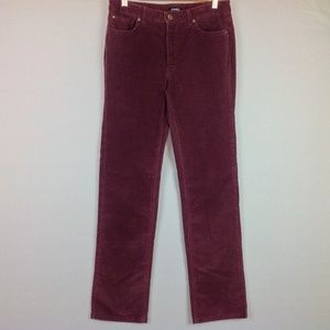 Jones New York Corduroy Pants Womens 10 Straight
